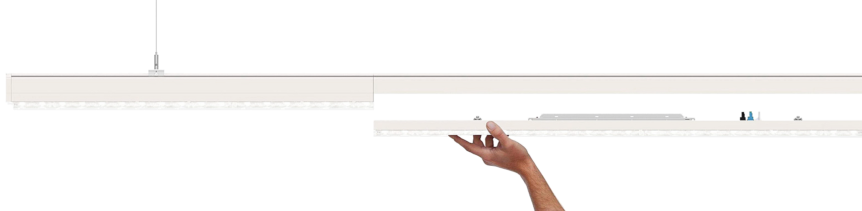 LED-Lichtband-Komplettsystem LSL-06-73-IP54