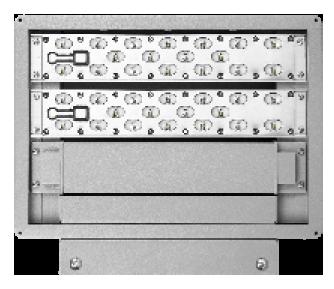LEDAXO LED-Wandstrahler ST-06 Ansicht Leuchtenmodule