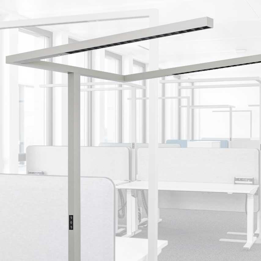 LEDAXO Bürobeleuchtung - Flexible Beleuchtungslösungen für moderne Büro-Arbeitswelten
