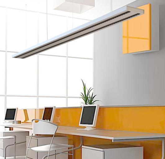 LEDAXO LED-Pendelleuchte PL-06 Anwendungsbeispiel Lichtband