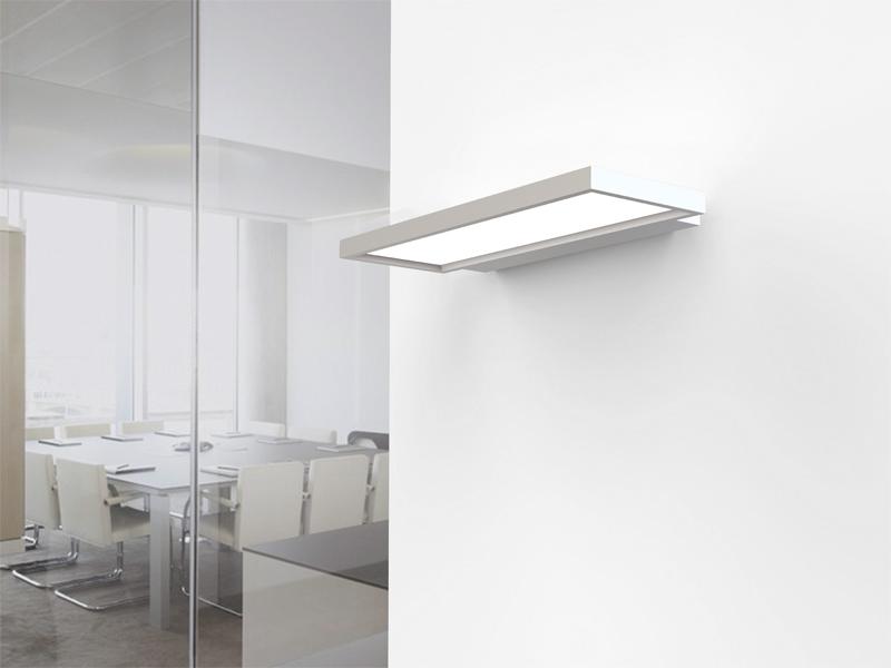 Anwendungsbeispiel LEDAXO LED-Wandleuchte WL-10-40-E