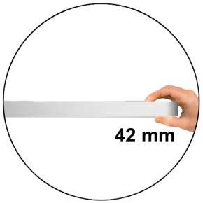 Flache-Bauform 42 mm