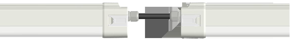 LED-Feuchtraumleuchte FL-11 geeignet für Reihenmontage