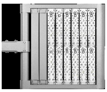 LEDAXO LED-Universalleuchte UL-05-450 Ansicht unten