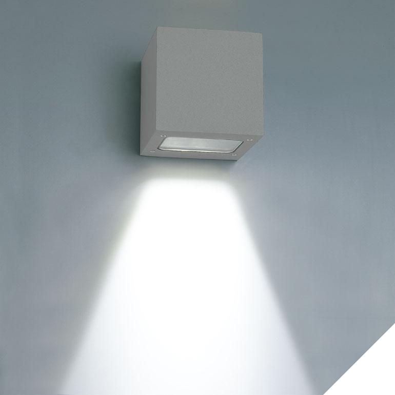 LEDAXO LED-Wandleuchte außen WLA-02-3