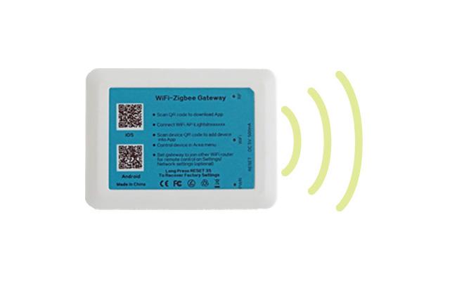 WiFi-Zigbee-Gateway für kabellose Lichtsteuerung