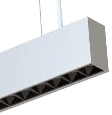 LEDAXO LED-Pendelleuchte PL-05-50 Detailansicht