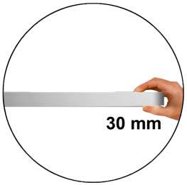 flache Bauform 30 mm