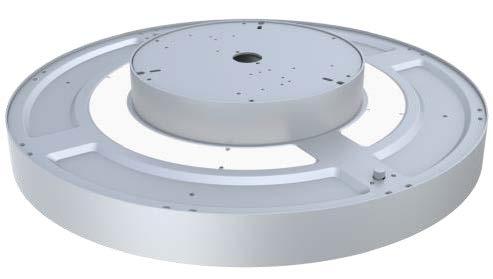 LEDAXO LED-Pendelleuchte PL-14 silber Detailansicht