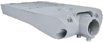 LEDAXO LED-Universalleuchte UL-04 Rückansicht