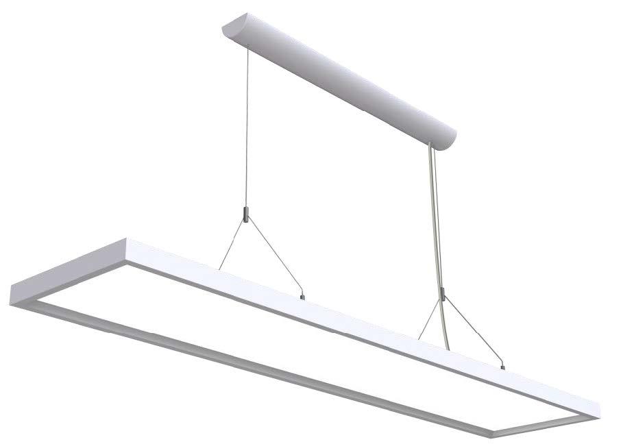 LEDAXO LED-Pendelleuchte PL-03 eckig