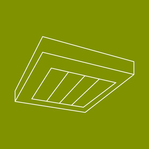 LEDAXO LED-Deckenleuchten außen