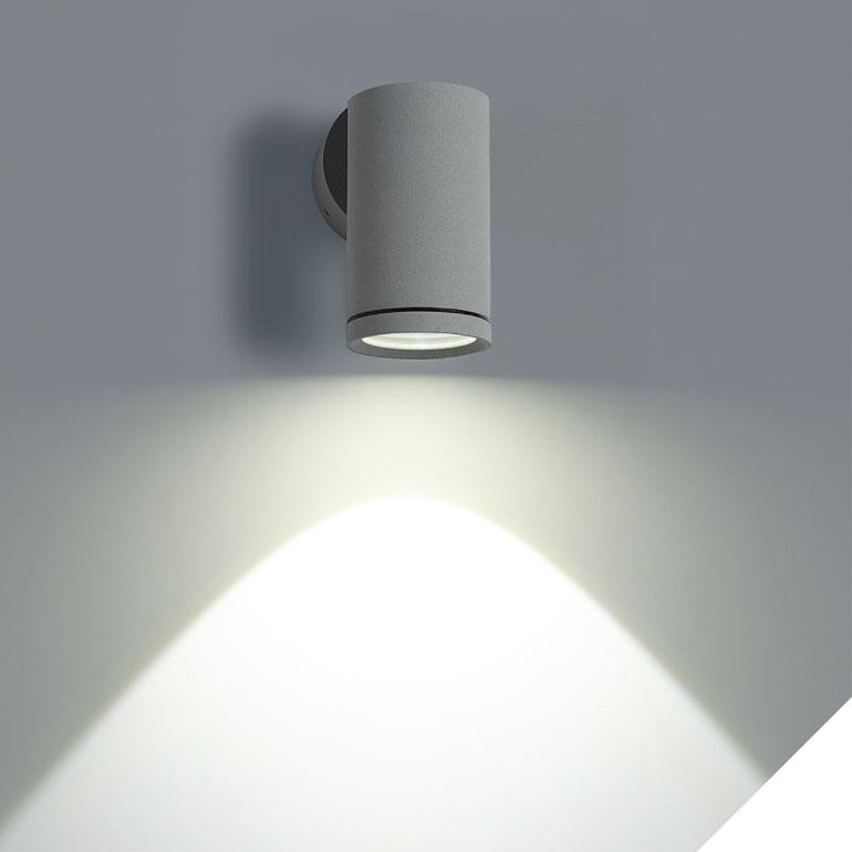 LEDAXO LED-Wandleuchte außen WLA-01-3