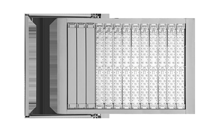 LEDAXO LED-Hallenstrahler-Außenstrahler HRS-05-750