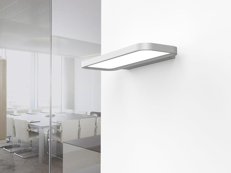Anwendungsbeispiel LEDAXO LED-Wandleuchte WL-10-40-R