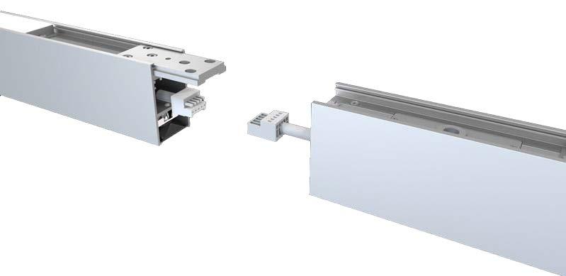 LEDAXO LED-Pendelleuchte PL-05-50 Leuchten-Elemente können abstandslos zu einem Lichtband verbunden werden