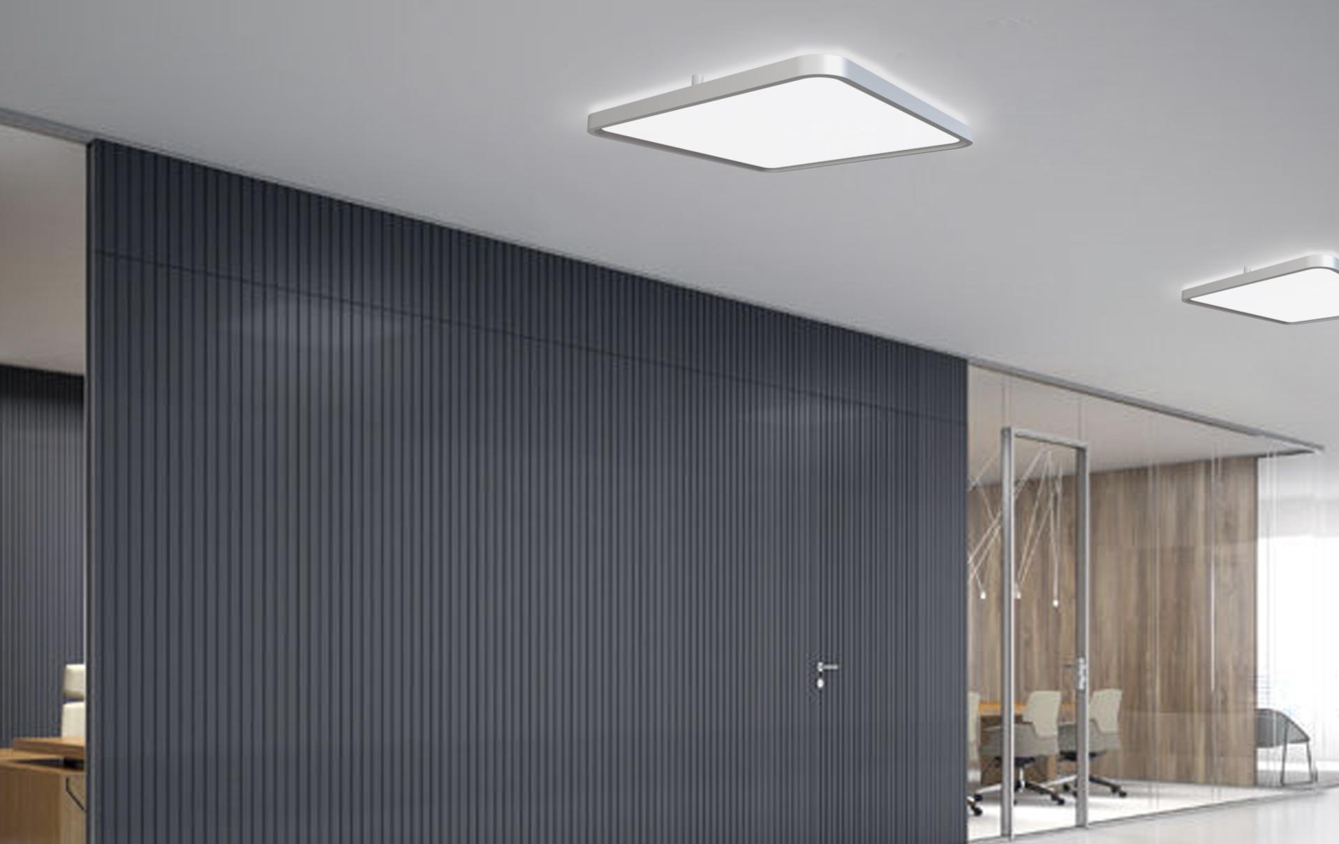 LED-Deckenleuchte DL-09-60-R (Ecken gerundet)