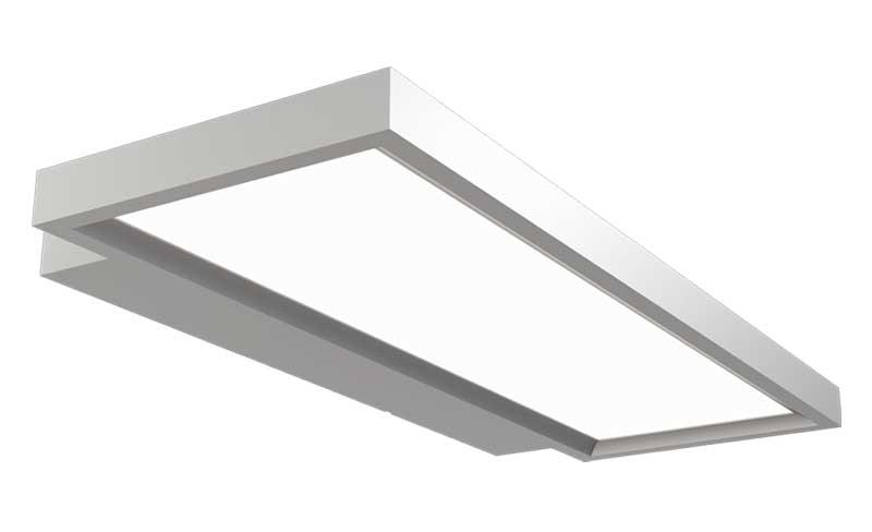 LEDAXO LED-Wandleuchte WL-10-40-E eckig