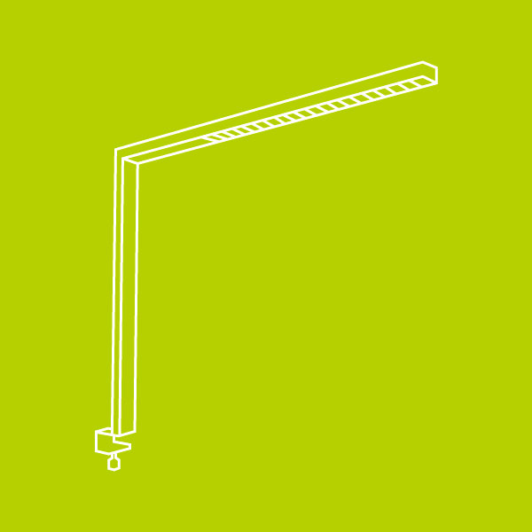 LEDAXO LED-Arbeitsplatzbeleuchtung