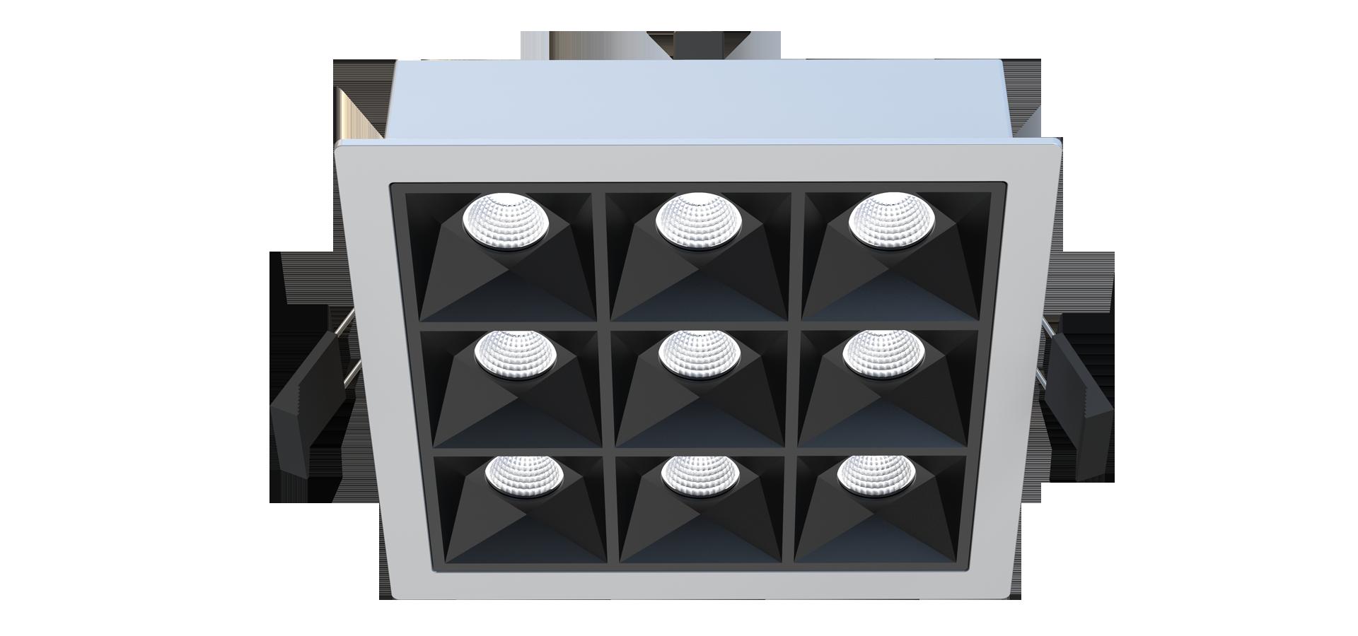 LEDAXO LED-Einbaustrahler ES-16-Q
