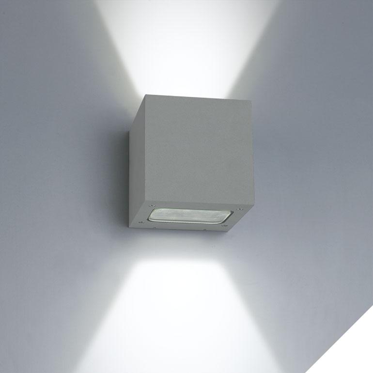 LED-Wandleuchte außen WLA-03-3+5