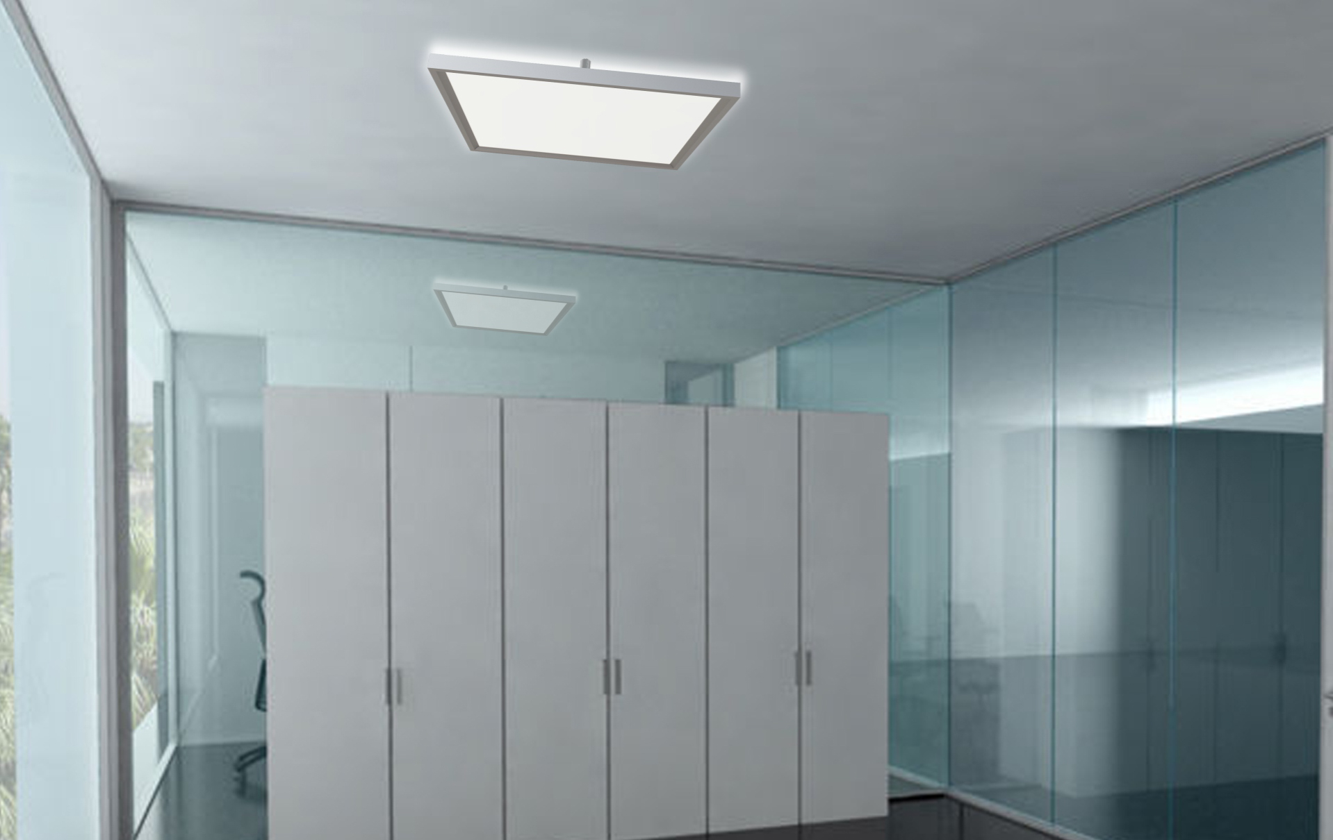 LEDAXO LED-Deckenleuchte DL-09-60-E Anwendungsbeispiel