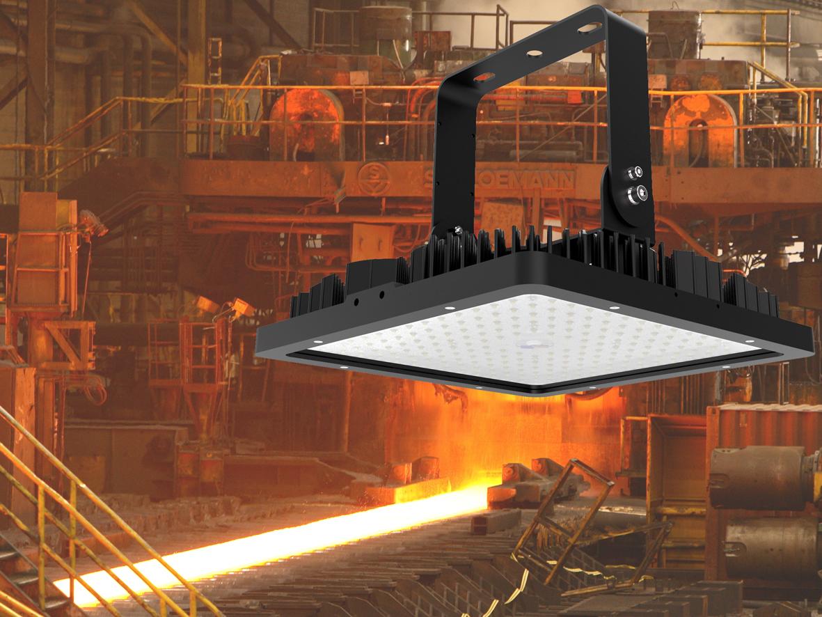 LEDAXO Hochtemperatur-LED-Hallenleuchte HL-05-T85 für Umgebungstemperaturen bis 85°C