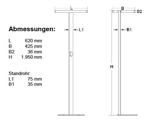 LED-Stehleuchte SL-05-100