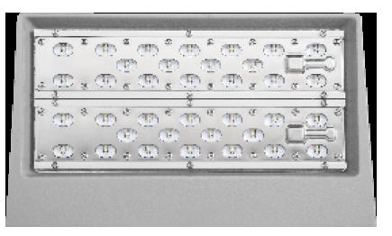 LEDAXO LED-Wandstrahler ST-07 Ansicht unten