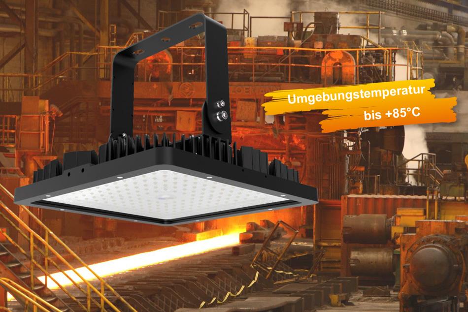 LEDAXO LED-Hochtemperaturstrahler HL-05 geeignet für Umgebungstemperaturen bis +85°C