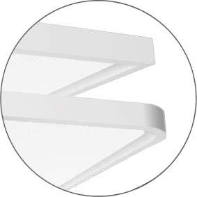 2 unterschiedliche Gehäuse-Geometrien erhältlich (eckig, Ecken gerundet)