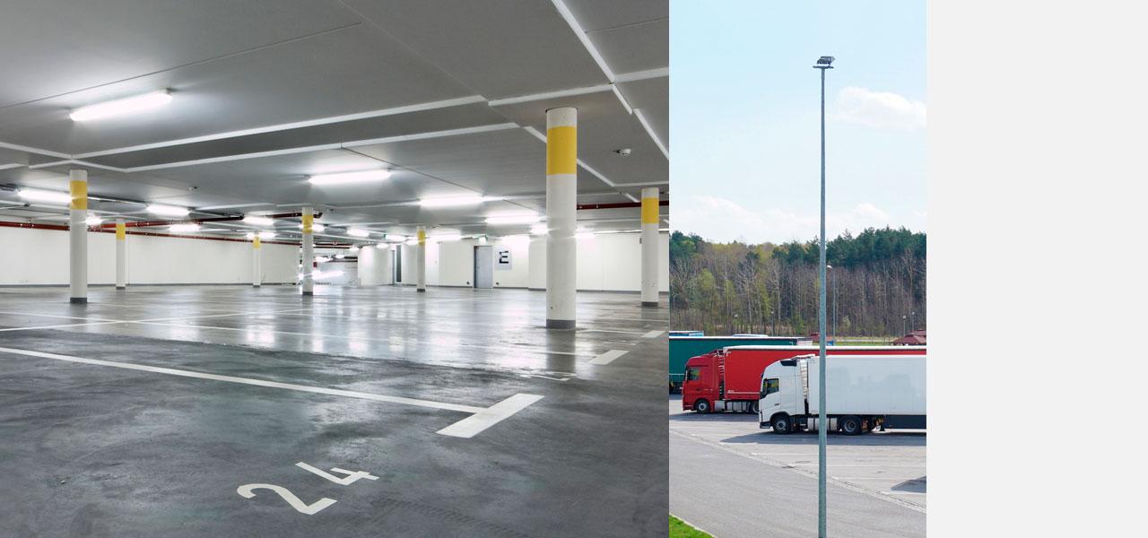 LEDAXO Produktkategorie LED-Parkraumbeleuchtung