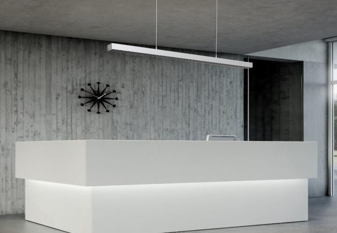 LEDAXO LED-Pendelleuchte PL-04-06 Anwendungsbeispiel