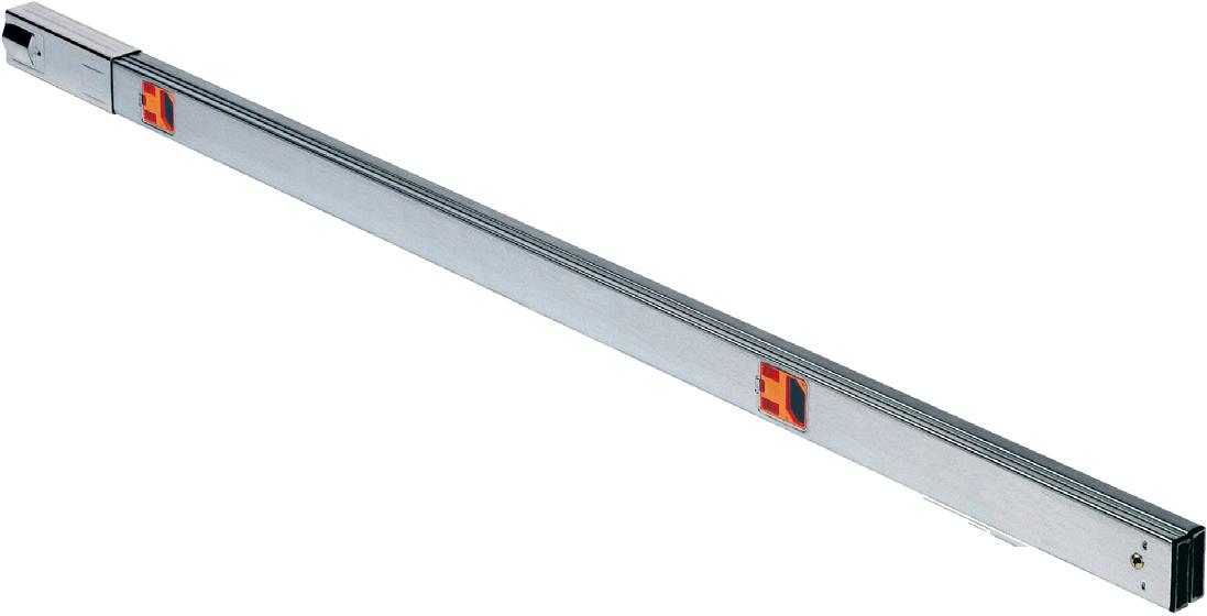 LEDAXO Trageschienensystem TS-03 Duo-Ausführung geeignet für Kombination mit Notlichtfunktion