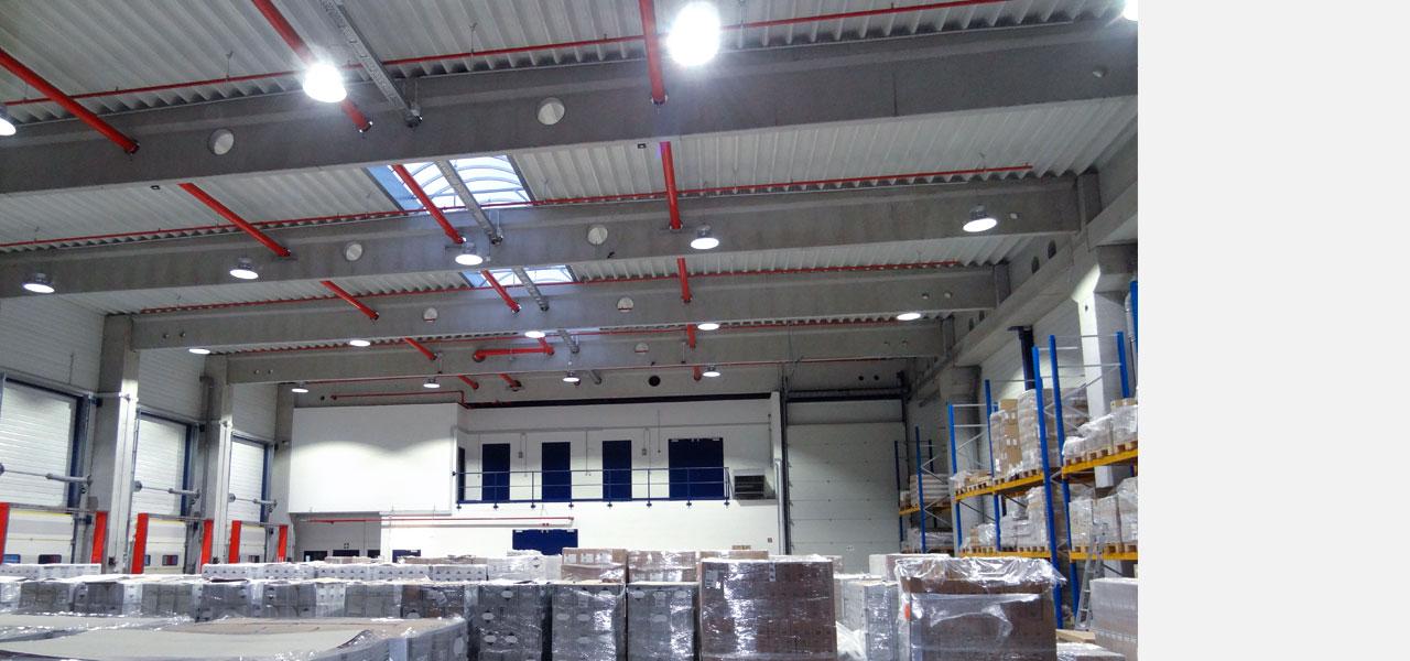 LEDAXO Produktkategorie LED-Hallenbeleuchtung