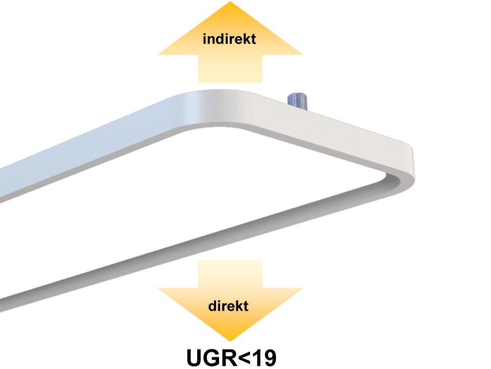 LEDAXO LED-Pendelleuchte DL-10-60-R
