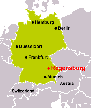 LEDAXO is based at Regensburg in the southern part of Germany (Bavaria)